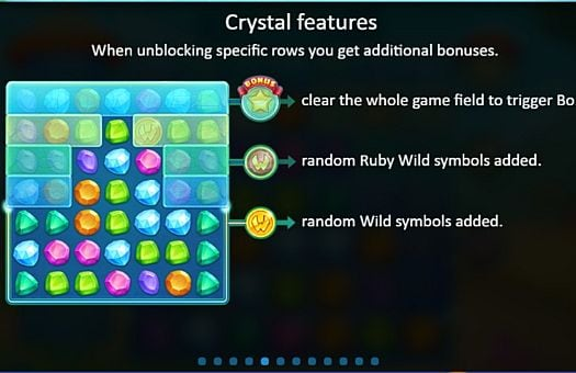 Правила игры в аппарате Crystal Land