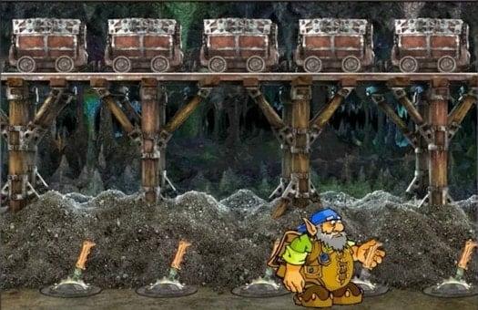 Бонусный режим игрового автомата Gnome